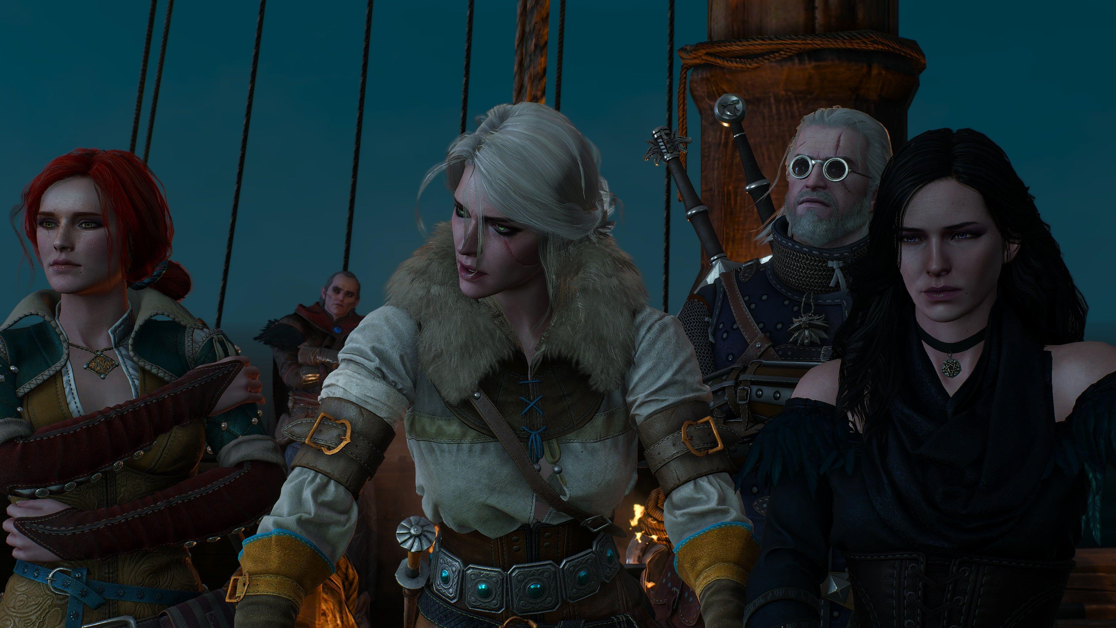 The Witcher The Witcher 3 Wild Hunt 4k Geralt Of Rivia Ciri