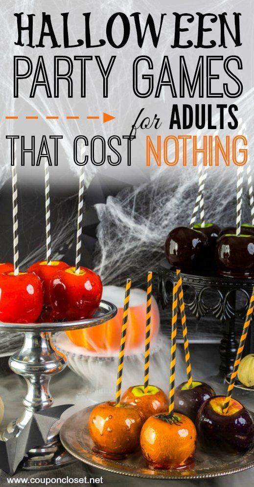 5 Halloween Party Games for Adults That Cost Nothing | Halloween ...
