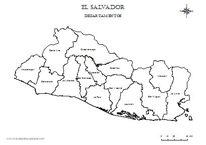 Mapa De El Salvador Para Dibujar Yahoo Resultados De Busqueda De Imagenes Map Image World Map