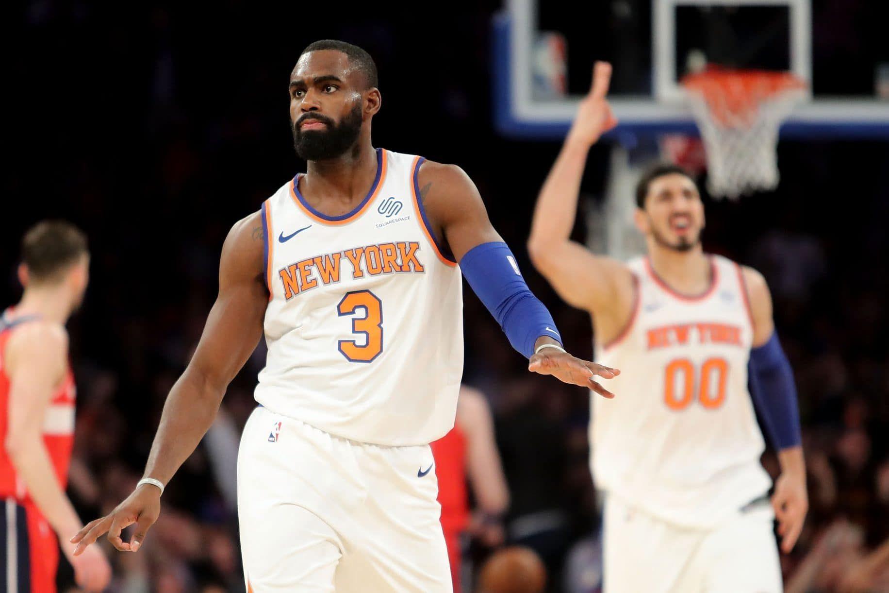 Fans And The Media Alike Are Roasting New York Knicks Swingman Tim Hardaway Jr For His Play So Far In The 2017 18 Sea Tim Hardaway New York Knicks Million Men