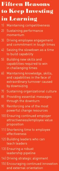 Sustaining Organizational Learning