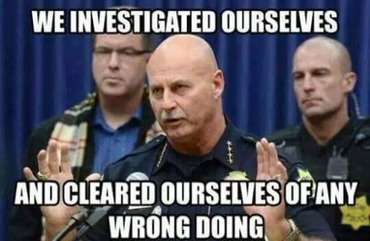 Funny Memes About Current Events : Police memes self investigation politricking current events