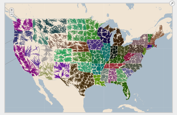 Top Us Zip Code Map Interactive Images - Printable Map - New ...