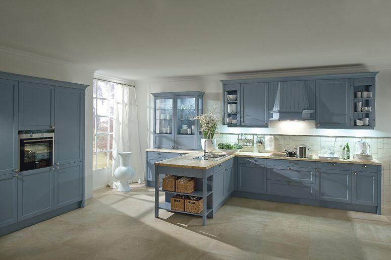Недавно модельный ряд кухни Bristol от немецкой компании Haecker - Nolte Küchen Fronten Farben