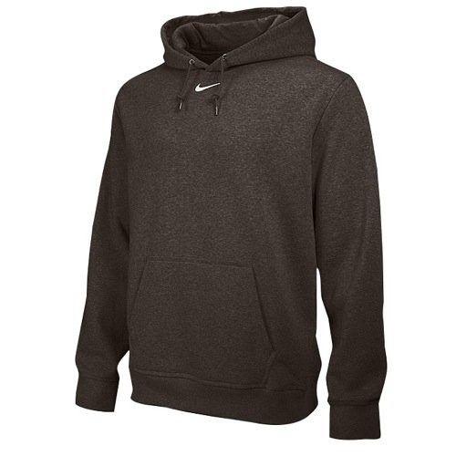 Nike Mens Swoosh Fleece Hoodie Pullover Hooded Sweatshirt Cotton Size