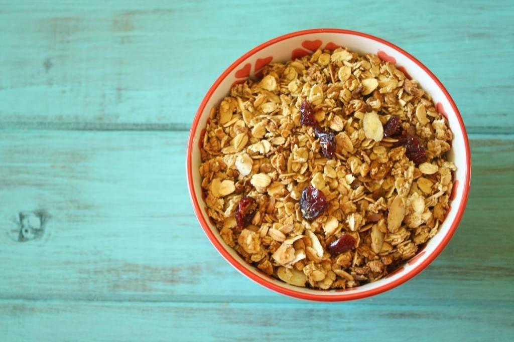 Healthy Homemade Granola Homemade granola healthy