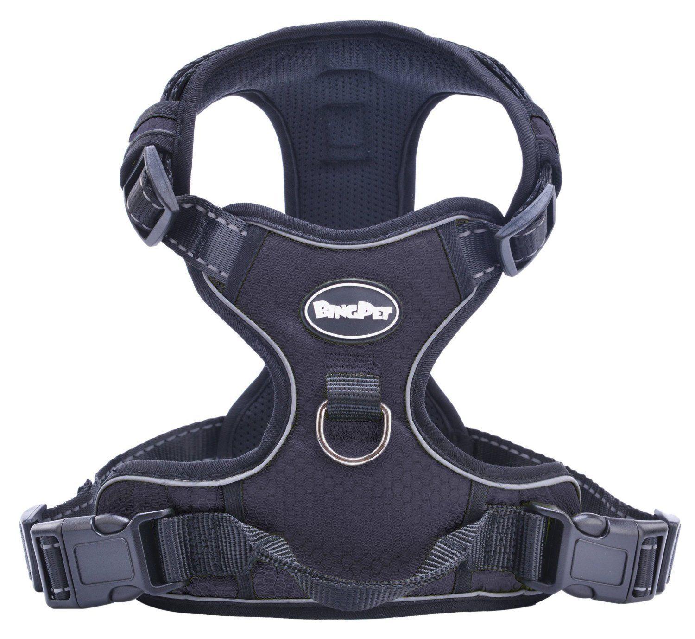 Best Front Range NoPull Dog Harness. 3M Reflective