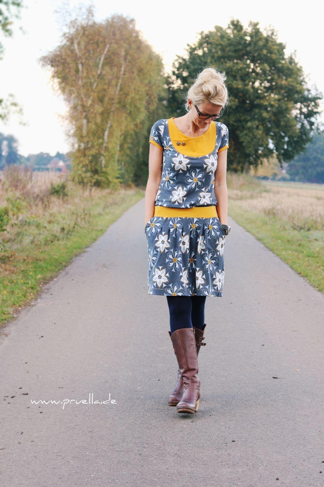 Delft trifft Sommerimmerkleid Anni – Summer outfits