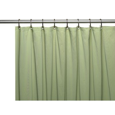 Ben And Jonah Hotel 8 Gauge Vinyl Shower Curtain Liner With Metal
