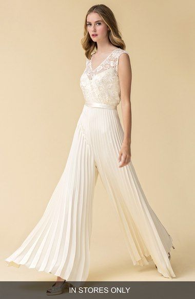 648111a2f11 Caroline DeVillo  Audrey  Pleat Wide Leg Silk Jumpsuit (In Stores Only)  available at  Nordstrom
