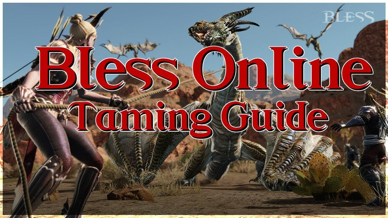 Bless Online Taming Guide For Pets And Mounts Na 2018 Blessed Online Pets