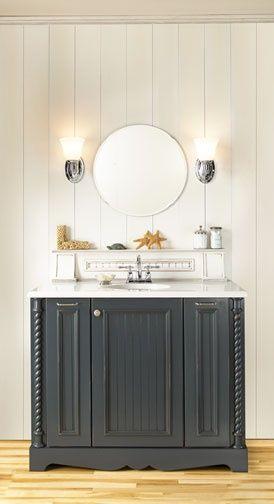 Gallery Cottage Bathroom Bathroom Cabinetry Wellborn Cabinets