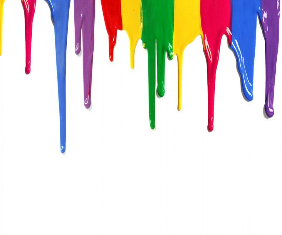 Paint Drips Colors Of Rainbow Happy Holi Wallpaper Wishes