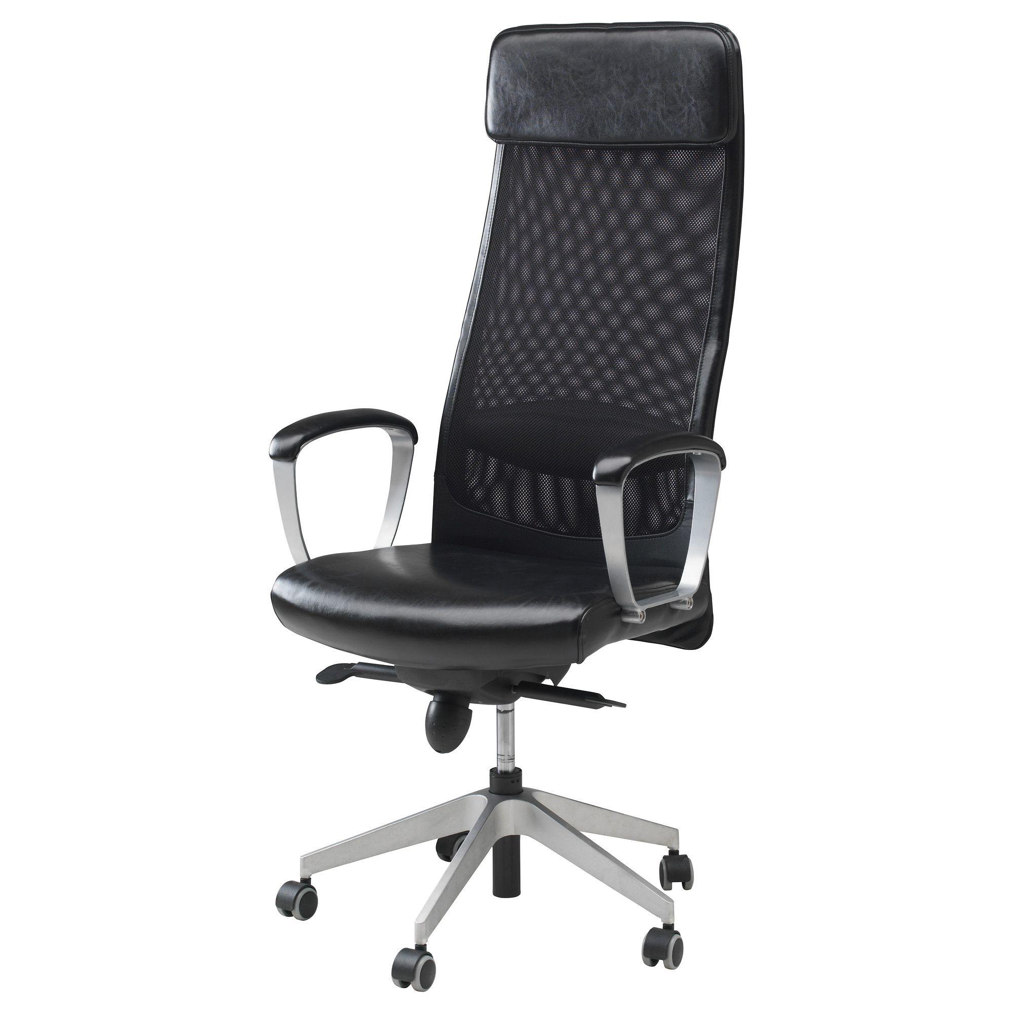 MARKUS Swivel chair Glose black Robust black
