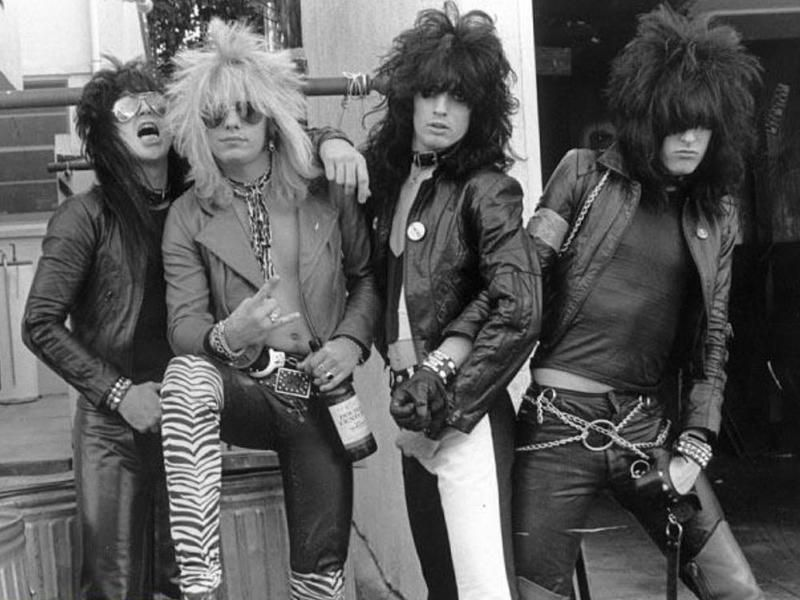 A History Of Rock N Roll Hairstyles For Men Male Standard Motley Crue Hair Metal Bands Nikki Sixx