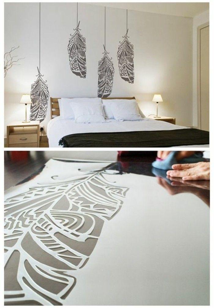 Charmant Wanddeko Selber Machen: 68 Tolle Ideen Für Ihr Zuhause | Wall Finishes And  Walls