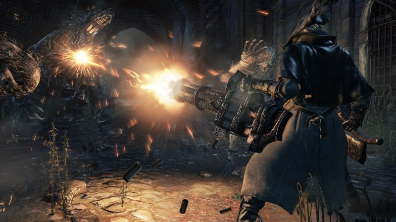 Bloodborne The Old Hunters Review A Handsome Night For A Hunt