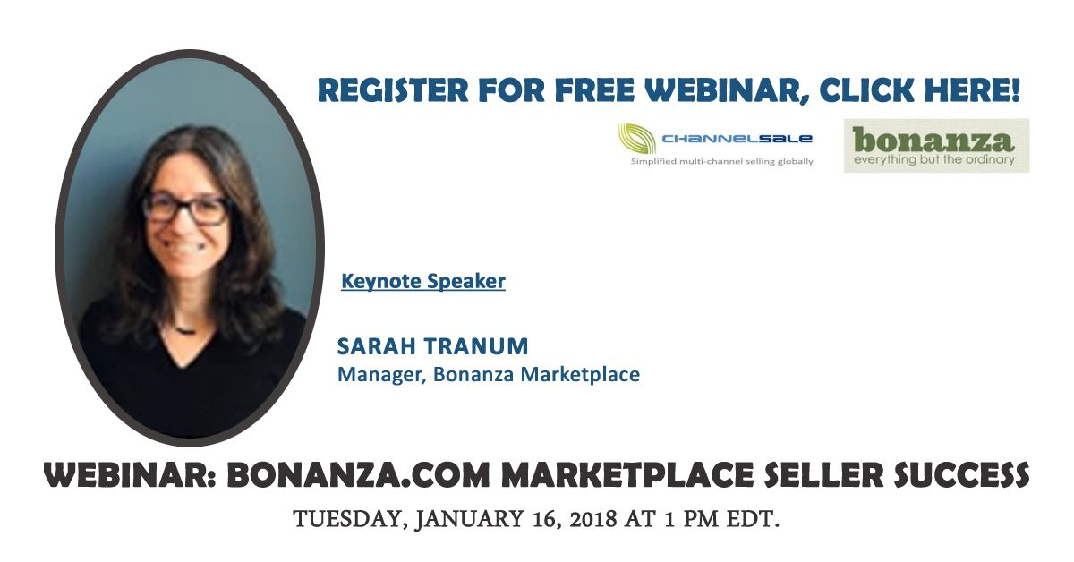 Register yourself for the free webinar with Channel Sale