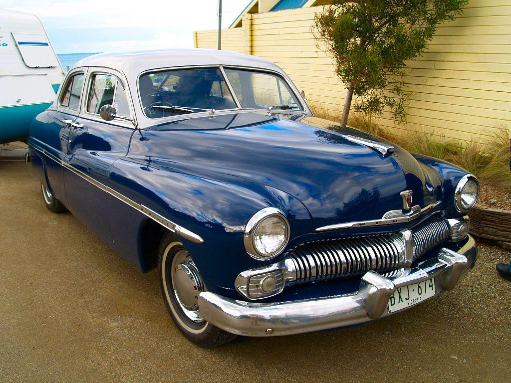 Classic Mercury American Blue Classic Cars Hot Rods