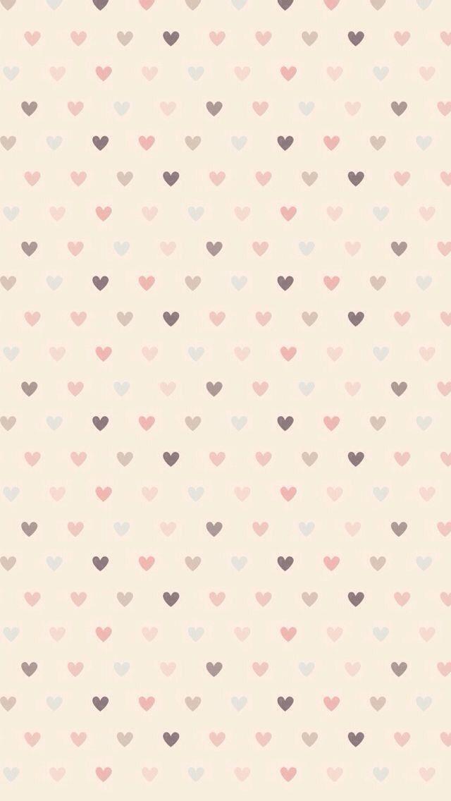 Pastel Hearts Phone Wallpaper Images Print Design Pattern Heart Wallpaper