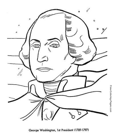 US Presidents coloring pages | presidents day | Pinterest | Social ...
