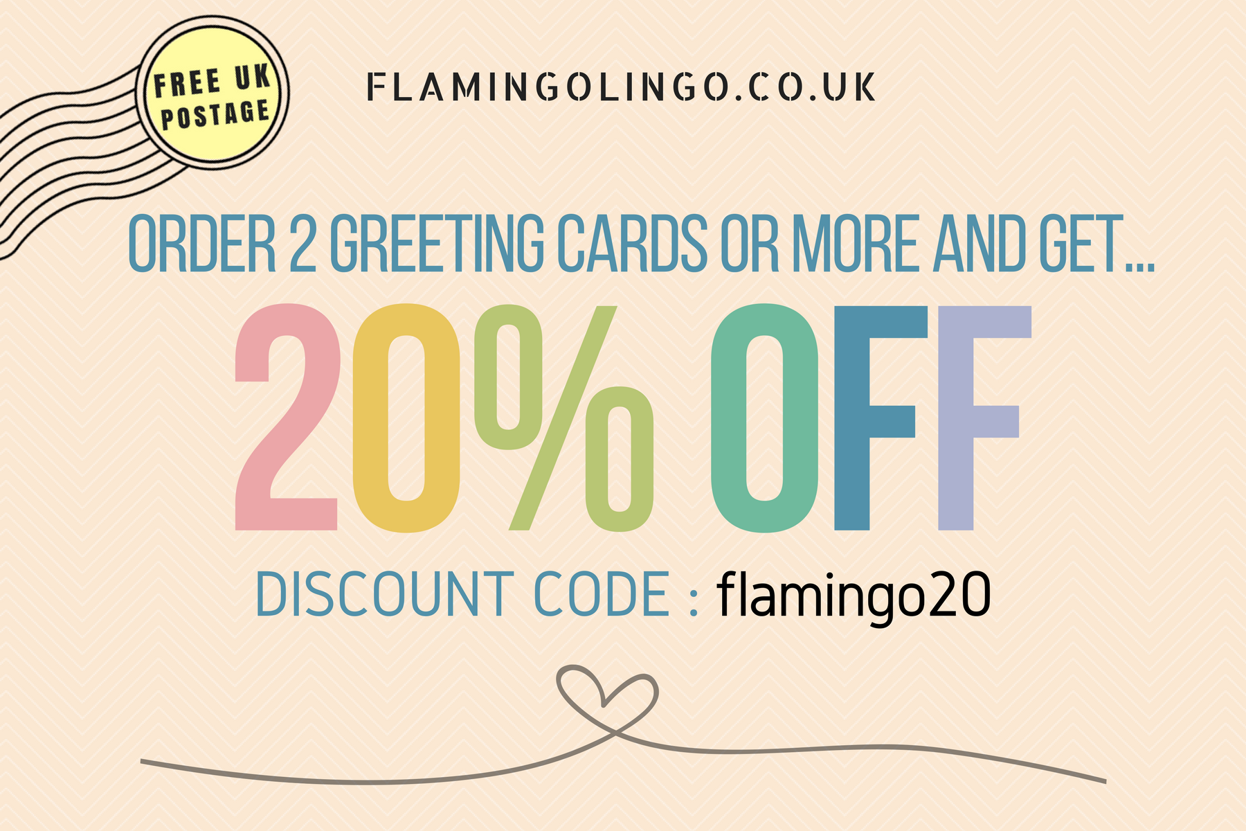 20 Discount Personalise Your Cards Today Get 20 Off And Free Uk