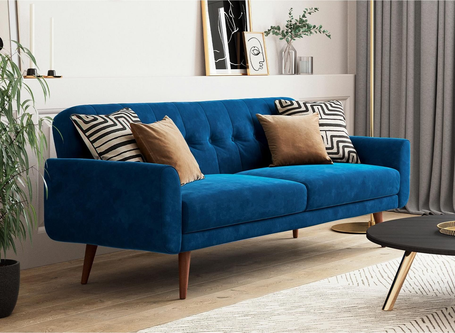 Gallway 3 Seater Clic Clac Sofa Bed In