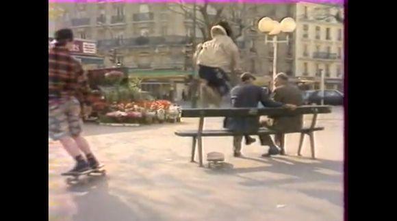 Du skate à Paris dans les 90′s on http://www.ridesessions.com