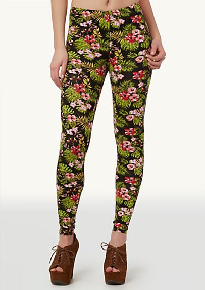 8deec6513f12a3 image of Tropical Leggings | ,im | Colorful leggings, Leggings, Fashion