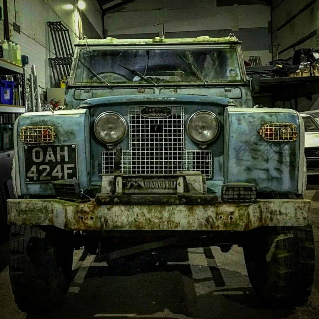 """#beastmode #explore #adventure  #landrover  #landroverseries #picoftheday #uk #photooftheday #style #vintage #vintagestyle #british #street #rugged…"""