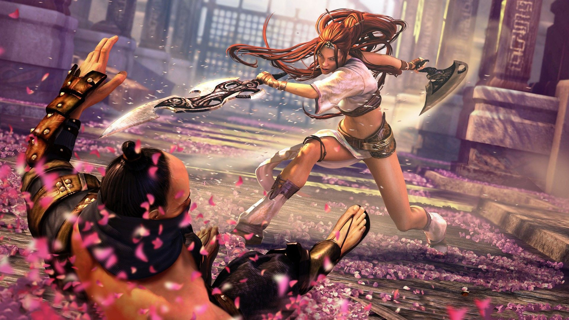Pin By Zack Hall On Heavenly Sword Heavenly Sword Video Game