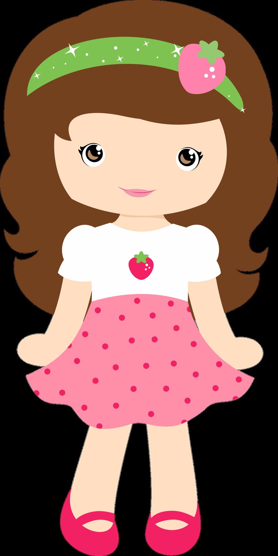 Moranguinho - Clipart Strawberry Shortcake