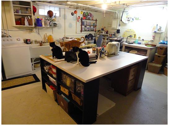 Crafting In A Tiny Apartment Craft Room StorageStorage IdeasCraft