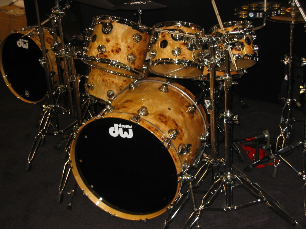 Galleries Related: Dw Drum Set