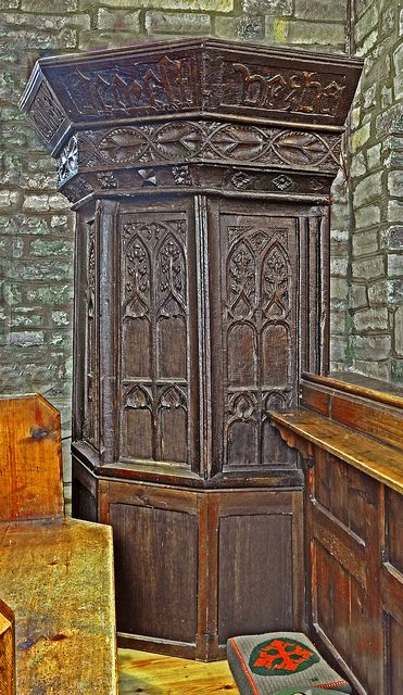 Early Tudor Pulpit, St.Mary's, Moorlinch