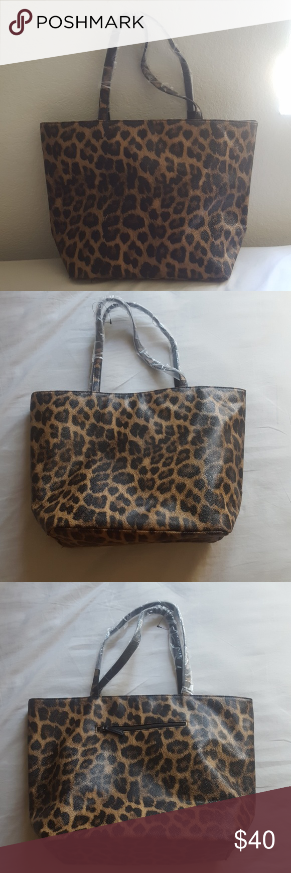 5f5720cb9114 Chico leopard tote bag Brand new without tag. Chico leopard design large tote  bag Chico's Bags Totes