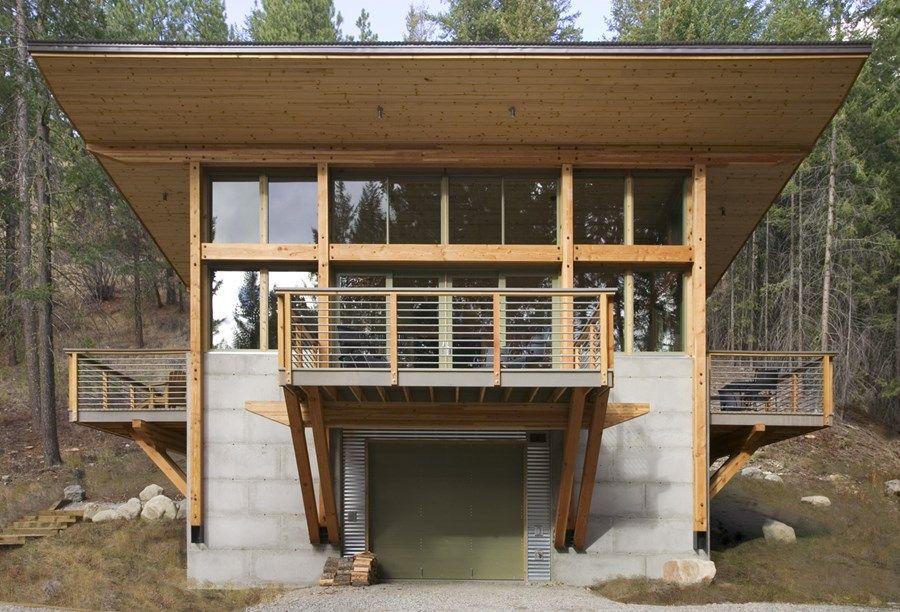 Wintergreen Cabin by Balance Associates 02