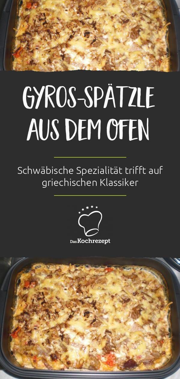 Gyros-Spätzle aus dem Ofen #recettesdecuisine