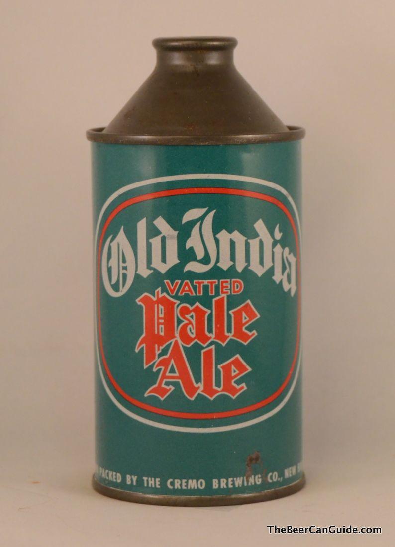 Old Indian vatted Pale Ale Vintage beer, Beer brands