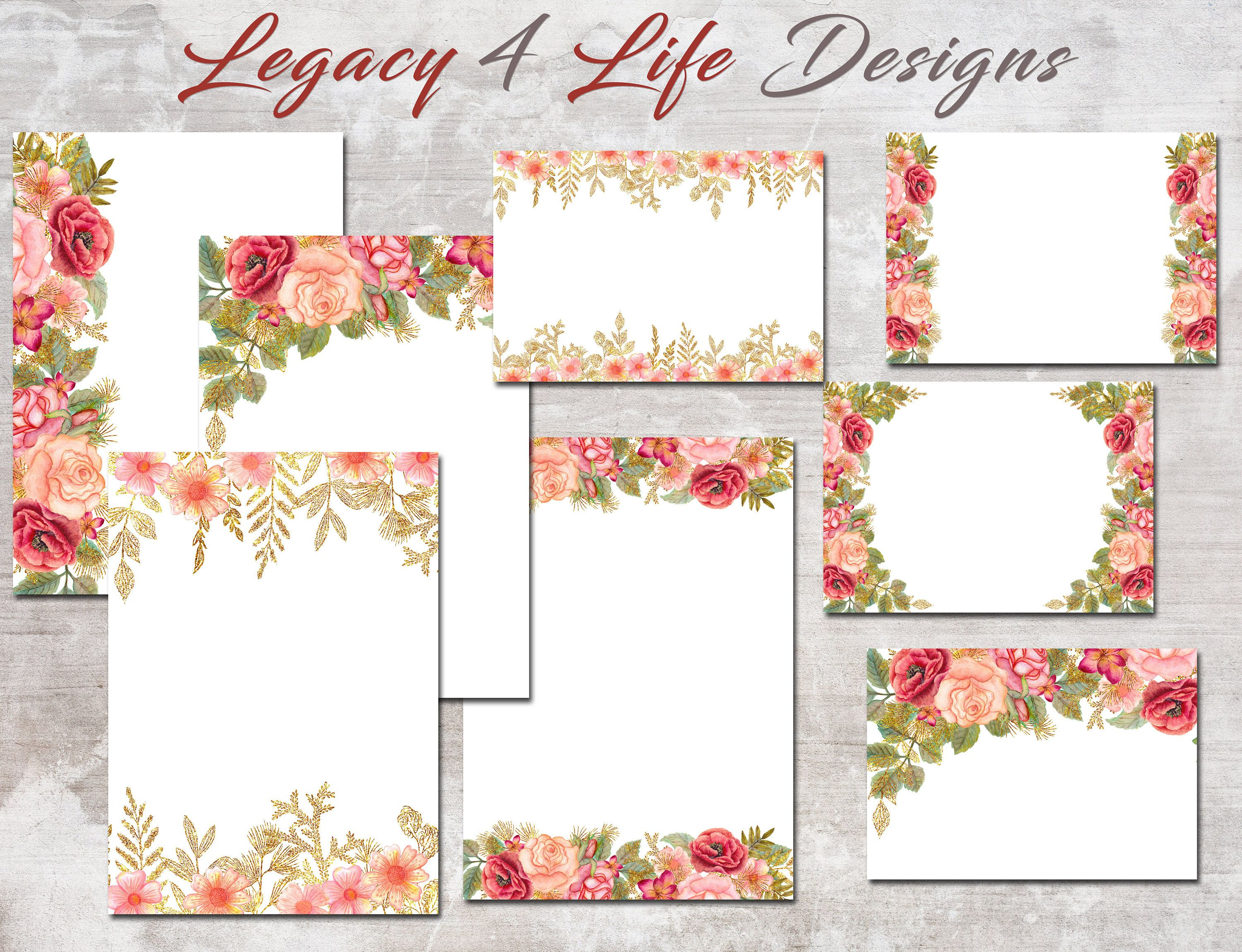 JPG Wedding Templates for Commercial Use rsvp thank you  Etsy