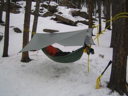 Medium image of just jeff u0027s hammock camping page
