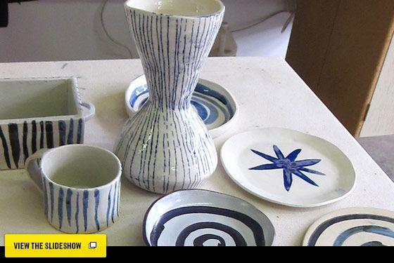 Design Hunting With Wendy Goodman - Paula Greif's Red Hook Pottery Studio -- New York Magazine