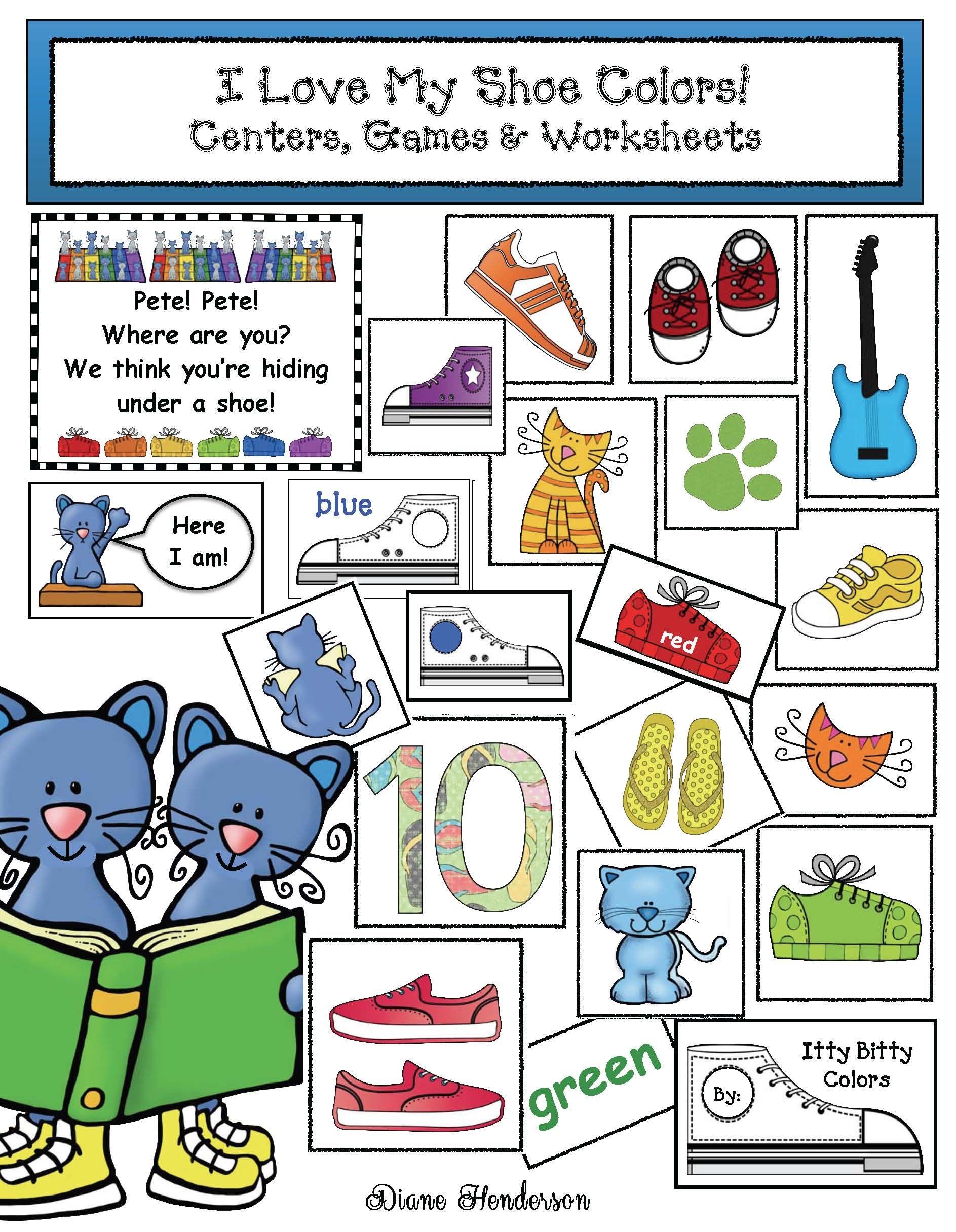 Cool Cat Shoe Color Packet
