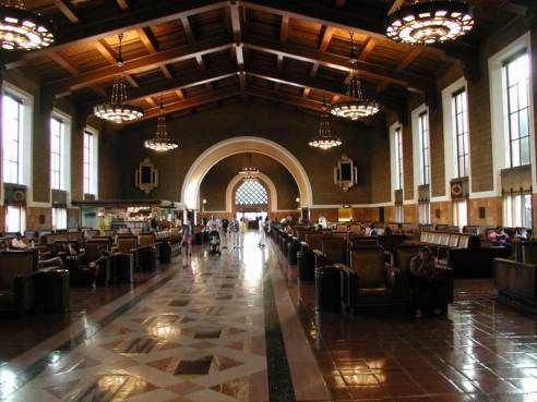 Union Station At 75 Still In The Hearts Of L A The Movies Union Station Train Station Railway Station