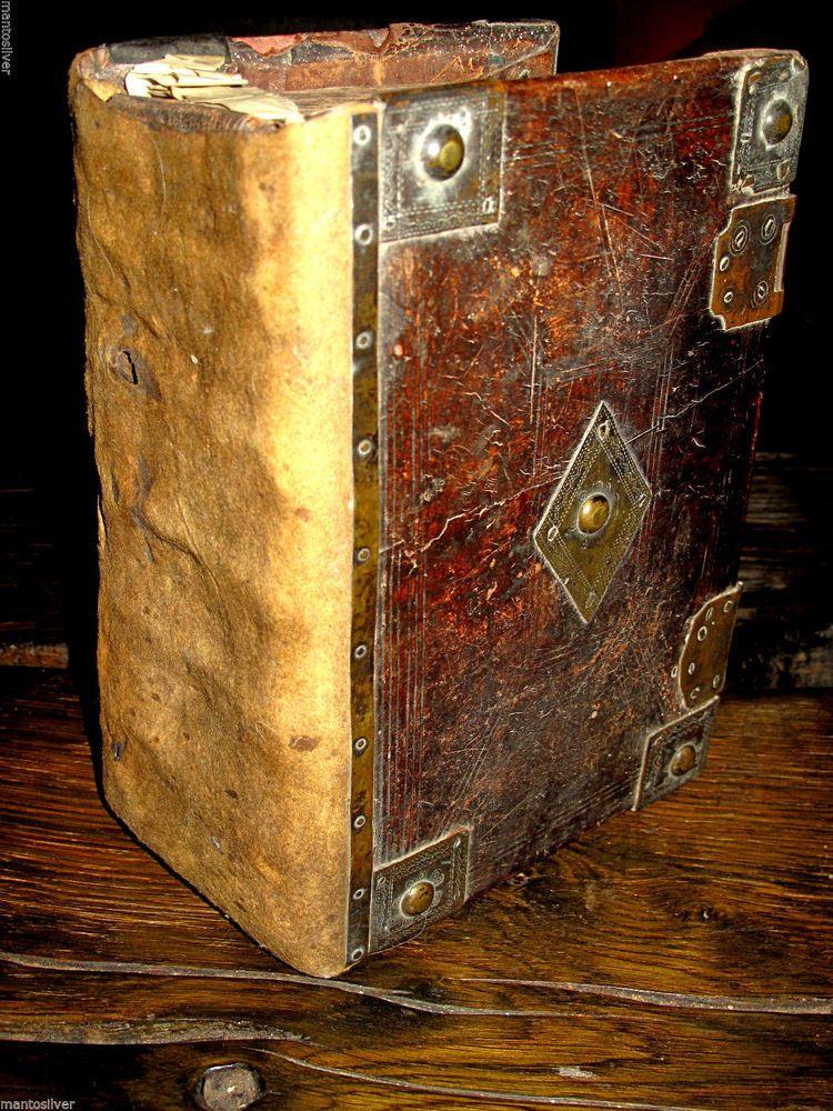 1603 HOLY BIBLE Elizabethan GENEVA Fine Binding BREECHES English PURITAN Antique
