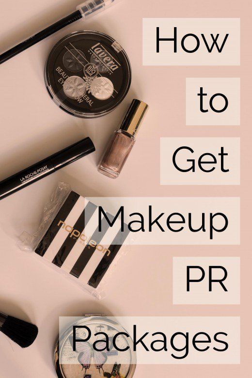 Makeup Artists And Bloggers Who Review Products Can Receive Generous Pr Packages From Companies Particu Makeup Artist Tips Free Makeup Samples Get Free Makeup