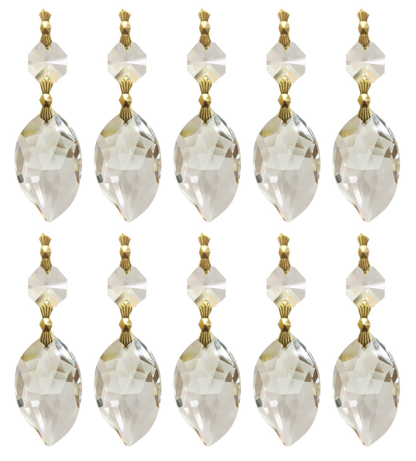 Royal Designs Replacement Chandelier Clear Crystal Prism K9