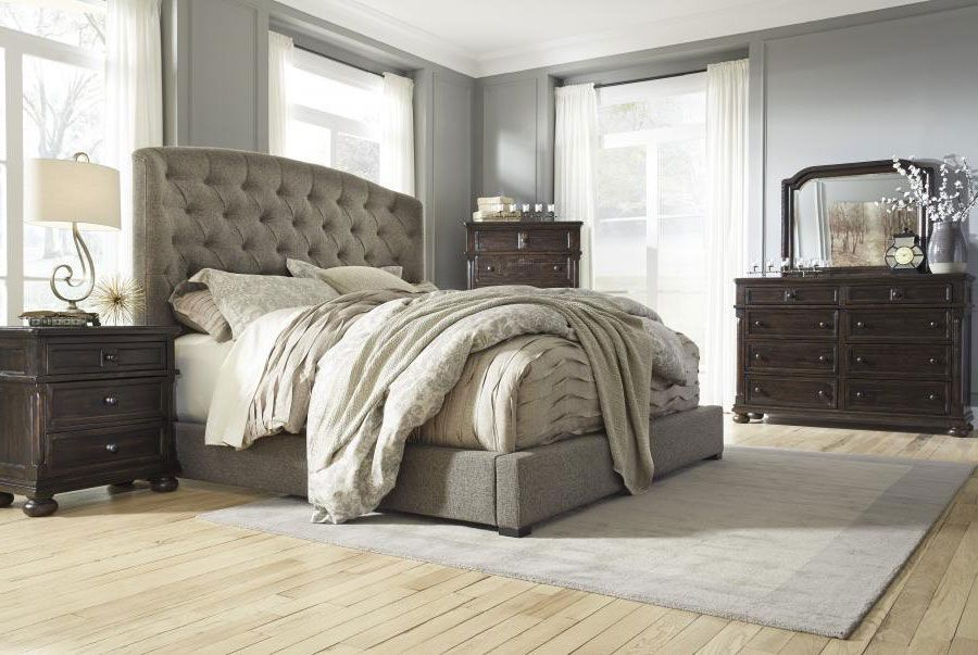Gerlane Upholstered Bed By Ashley Upholstered Beds King Size Bed Bed
