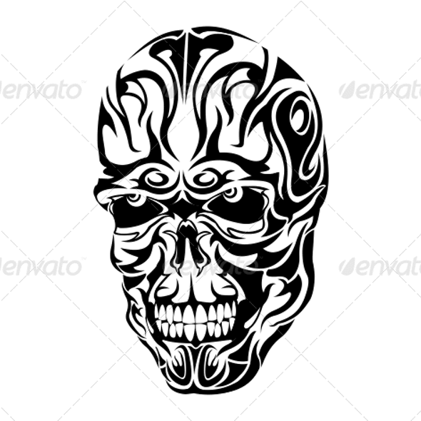 Paling Bagus 29 Desain Tato Skull Tribal Tattoo Designs From Graphicriver Page 6 Tattoo Png Im Skull Tattoo Design Joker Tattoo Design Tribal Tattoo Designs
