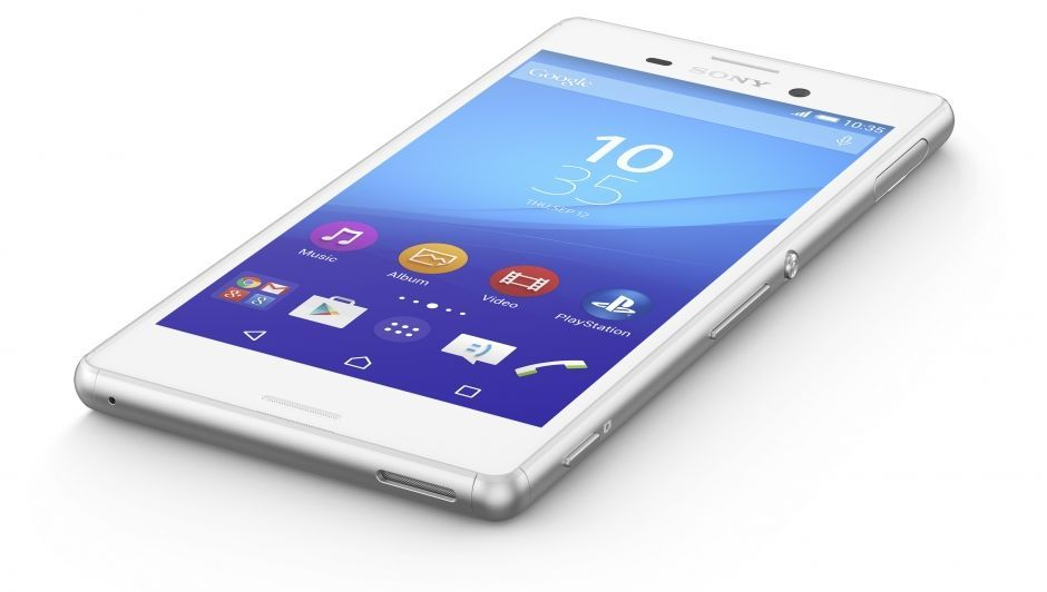 Hands On With The Sony Xperia M4 Aqua Unassuming Mid Range Phone With High End Features Sony Xperia Z3 Aqua Stockage